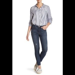 Democracy Jeans - Democracy High Rise Distressd Skinny Jeans Sz6 NWT